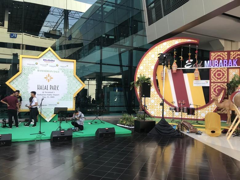 Pulang Mudik Via Terminal 3 Bandara Soetta Bisa Belanja di Halal Park