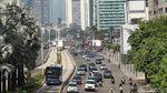 Hari Pertama Masuk Kerja, Jalan Sudirman-Thamrin Masih Lengang