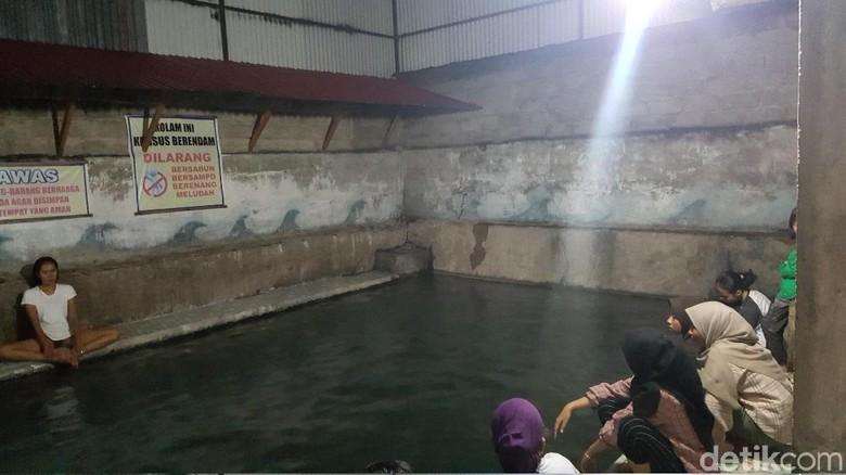 Pemandian air panas di Tanah Datar (Syanti Mustika/detikcom)