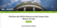 Di AS dan Korsel, Petisi Online Disediakan oleh Kantor Kepresidenan