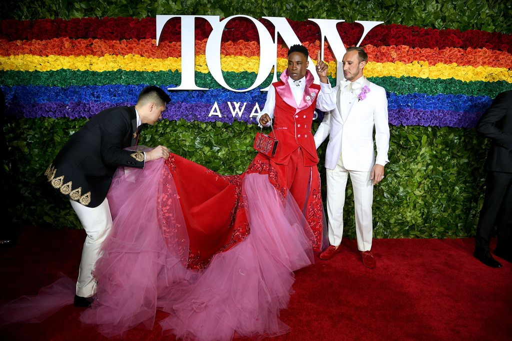 NEW YORK, NEW YORK - JUNE 09: Billy Porter attends the 73rd Annual Tony Awards at Radio City Music Hall on June 09, 2019 in New York City. (Photo by Dimitrios Kambouris/Getty Images for Tony Awards Productions)