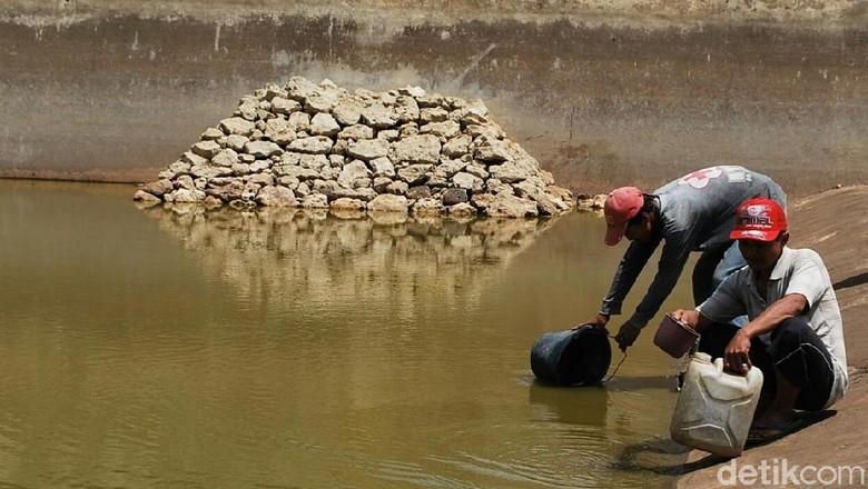 Wonogiri Bagian Selatan Sudah Kekeringan, Warga Mulai Membeli Air