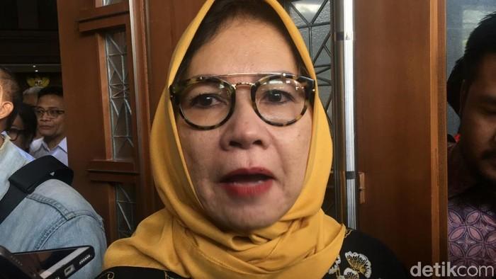 Eks Dirut Pertamina Karen Agustiawan (Faiq Hidayat/detikcom)