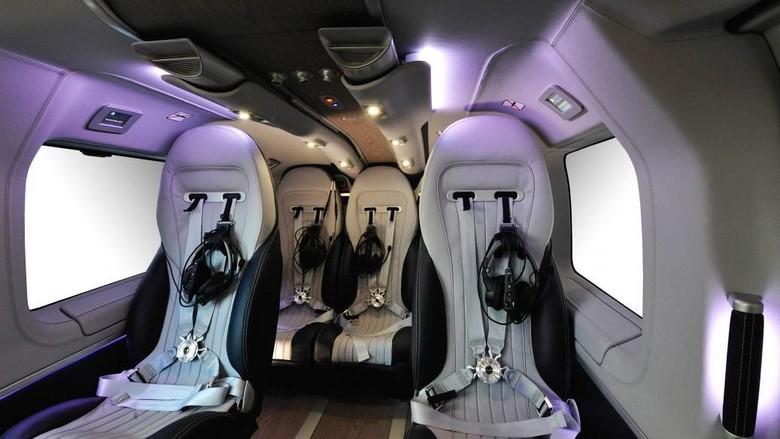 Bagian dalam helikopter H145 (Airbus)