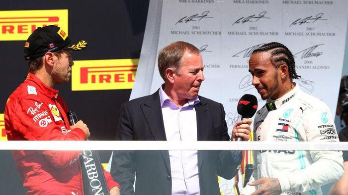 Pebalap Mercedes, Lewis Hamilton. (Foto: Mark Thompson/Getty Images)