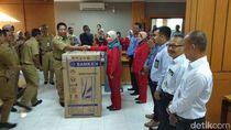 Datang Lebih Awal, Pegawai Perusahaan Daerah Magelang Dapat TV dan Kulkas