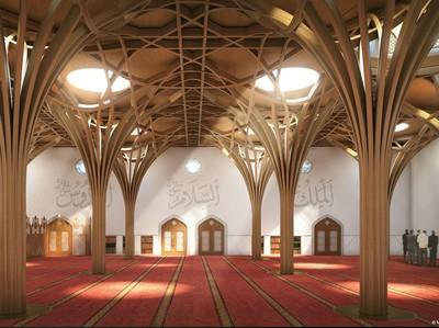 Foto: Masjid Ramah Lingkungan Pertama di Eropa