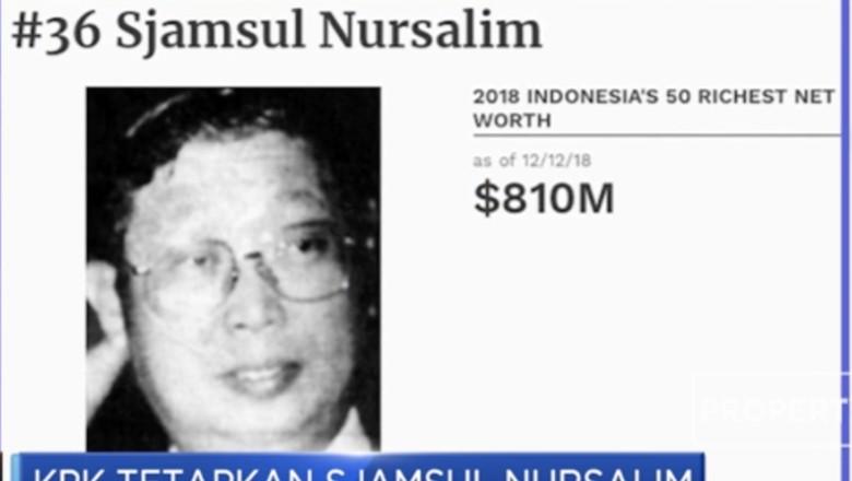 Sjamsul Nursalim: Pengusaha Ban yang Kini Jadi Tersangka Korupsi BLBI