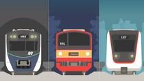 Ini Bedanya LRT, MRT dan KRL