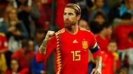 Ramos Terus Hot untuk Spanyol, di Ambang Rekor Bek Tersubur