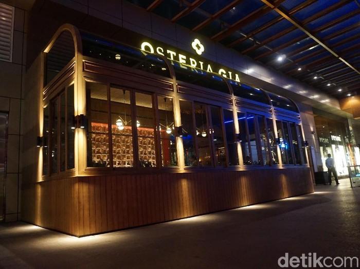 Osteria Gia, restoran Italia terbari di Pacific Place, SCBD, Jakarta Selatan. (Foto: Daniel Ngantung/Wolipop)