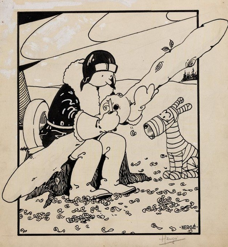 Foto: Sampul Komik Tintin