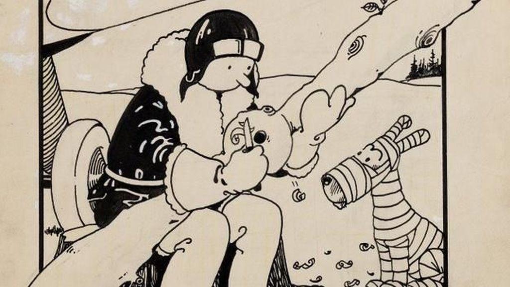 Wow! Sampul Komik Tintin Terjual Rp 16 M