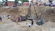 Bocah India Tewas Usai 4 Hari Terjebak di Sumur Sedalam 33 Meter