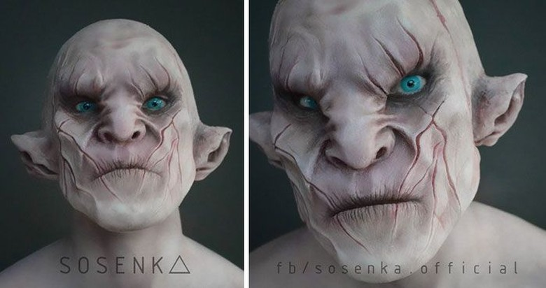Azog di film The Hobbit. Foto: instagram.com/itlookslikekilled