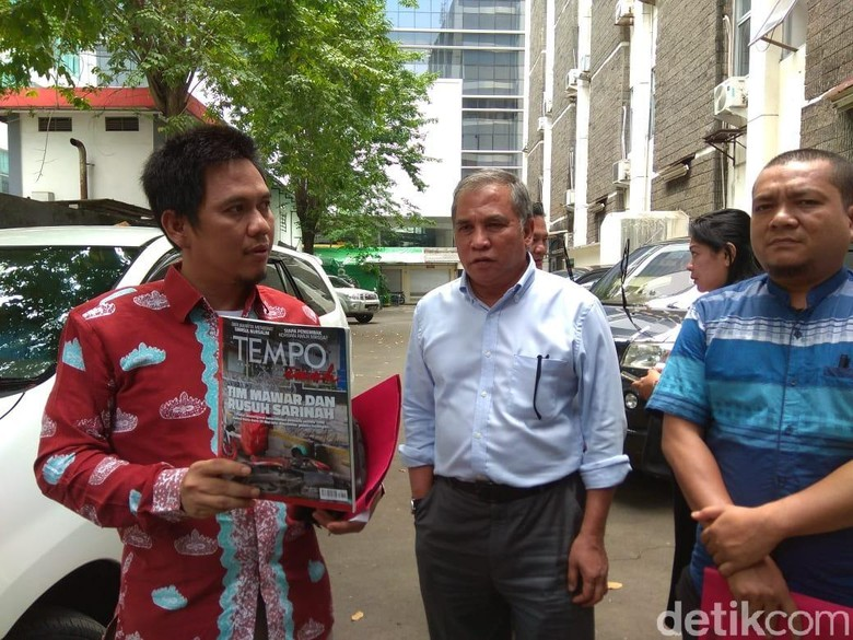 Eks Komandan Tim Mawar Adukan Majalah Tempo ke Dewan Pers
