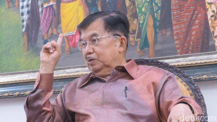 Foto: Wapres Jusuf Kalla (Noval Dhwinuari Antony/detikcom)