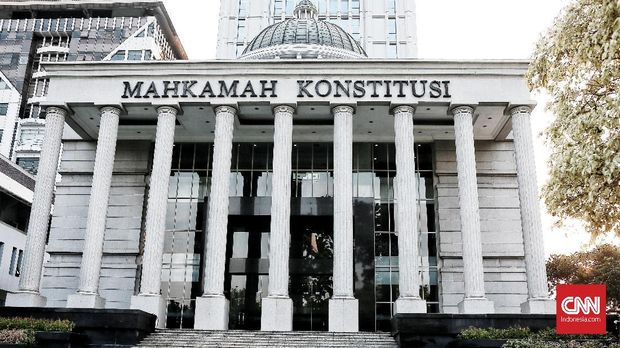 Gedung Mahkamah Konstitusi.