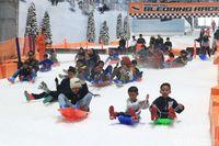 Catat! Ini Rute Angkot & TransJakarta Menuju Trans Snow World