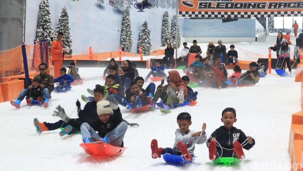 Trans Snow World Juanda yang Ramah Anak di Bekasi