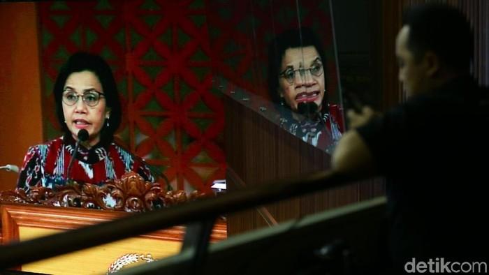 Menkeu Sri Mulyani sampaikan kebijakan anggaran APBN 2020 hingga pamer rating utang RI yang naik.