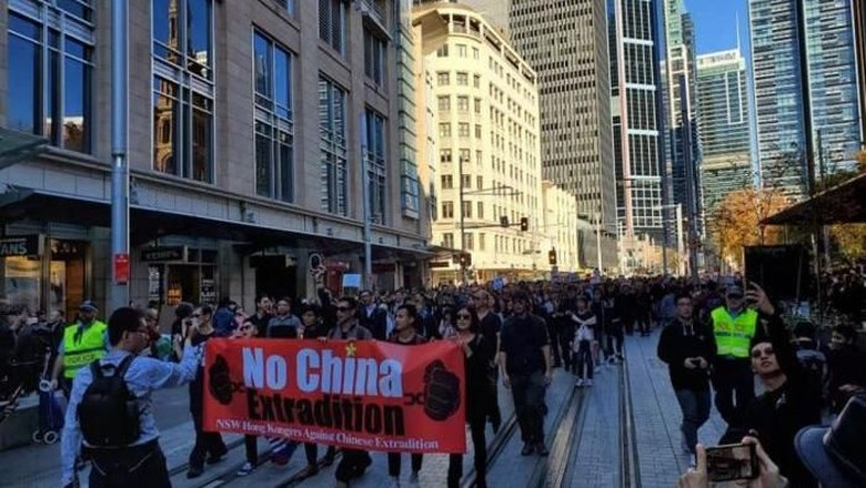 Australia Diminta Lebih Tegas Sikapi Ekstradisi Hong Kong-China