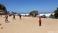 Foto: Pantai dengan Taman Cantik di Gunungkidul