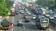 174 Ribu Kendaraan Tinggalkan Jakarta Lewat Tol Jelang Natal