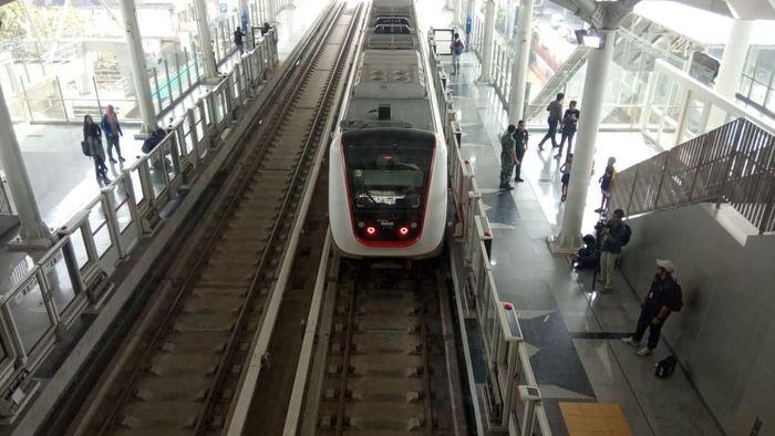 LRT Jakarta/Foto: Herdi Alif Al Hikam