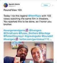 Luar Biasa, Penggemar ini Nonton Avengers: Endgame 110 Kali!