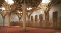 Selain tanpa listrik, masjid ini juga punya penyejuk alami. Cambridge Central Mosque dibuat dengan ventilasi yang baik. Selain udara yang keluar masuk, masjid ini juga didinginkan oleh energi lokal yang dihasilkan melalui pompa panas. (marksbarfield)