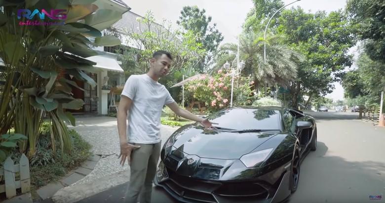 Lamborghini Raffi Ahmad. Foto: Screenshot Youtube Rans Entertainment