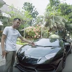 Lamborghini yang Terbakar di Sentul Punya Raffi Ahmad