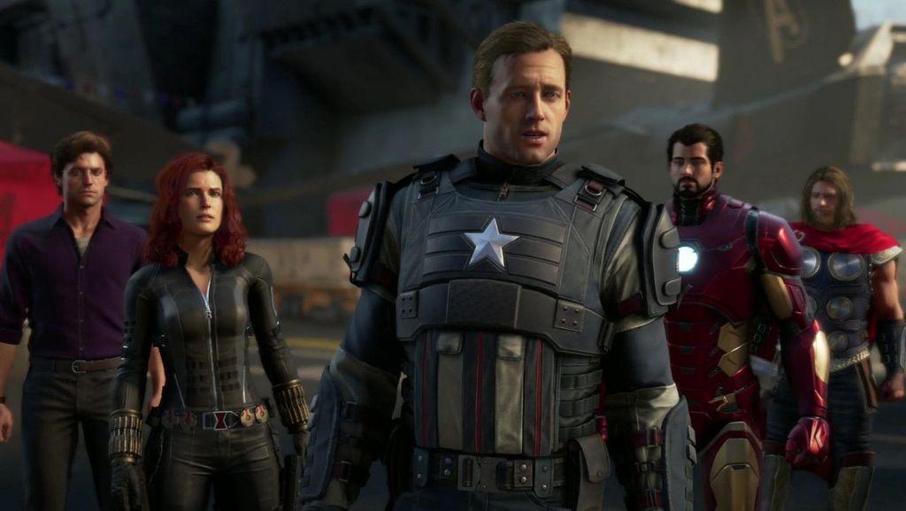 Melalui akun YouTube miliknya, Marvel Entertainment merilis trailer dari game Avengers: A-Day hasil kerja samanya dengan Square Enix. Foto: Square Enix