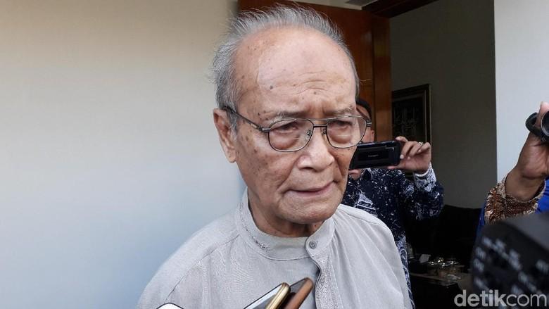Buya Syafii Ngobrol Sama Menhan Tak Singgung Politik