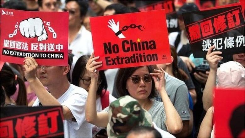 RUU Ekstradisi Jalan Terus, Aksi Demo akan Kembali Digelar di Hong Kong