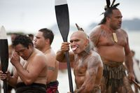 Suku maori yang terkenal dengan tatonya (iStock)