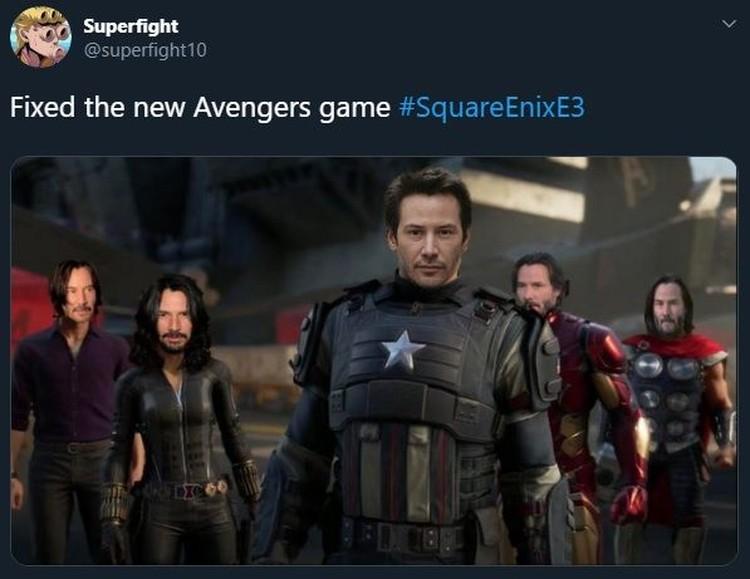Game Avengers Jadi Sasaran Meme Kocak Netizen - Foto 5