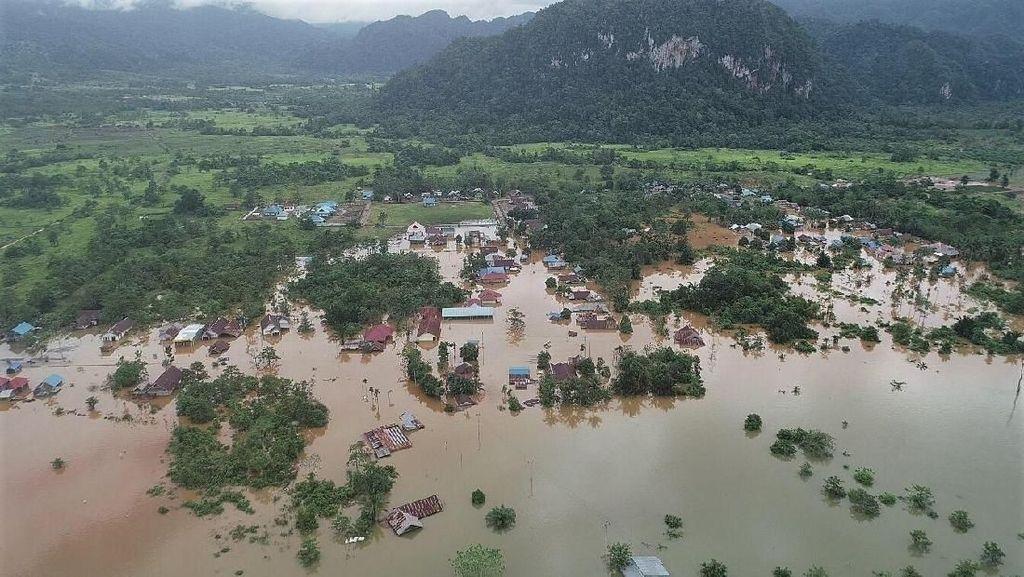 Banjir Konawe, Dua Desa Masih Terisolir