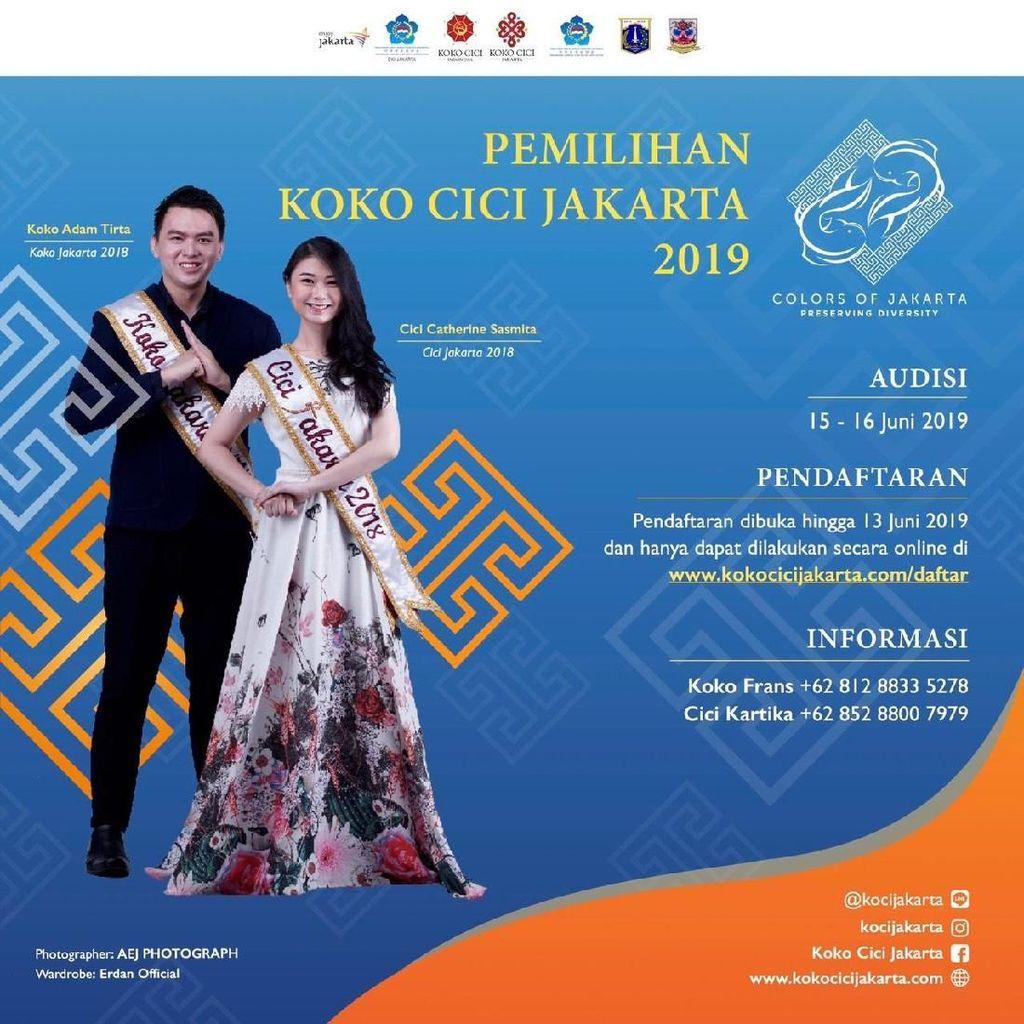 Masih Ada Kesempatan untuk Jadi Koko Cici Jakarta 2019