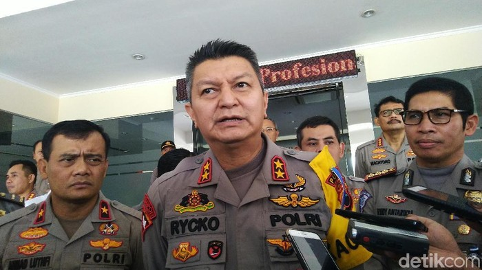 Kapolda Jateng Irjen Rycko Amelza Dahniel di Semarang, Selasa (11/6/2019). (Angling Adhitya Purbaya/detikcom)