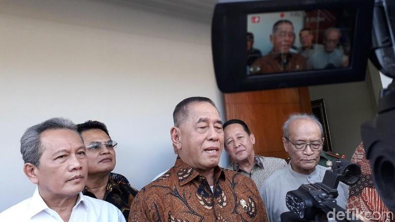 3 Eks Kepala Tersangka Melawan Negara, Menhan: Hukum Panglima Tertinggi