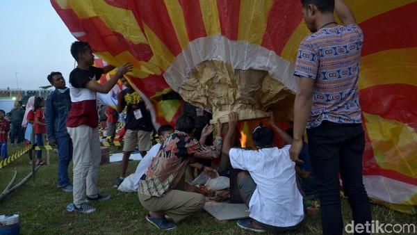 Dirut Airnav Indonesia, Novia Riyanto, menegaskan ketentuan menerbangkan balon udara sudah diatur dalam Peraturan Menteri Perhubungan nomor 40 Tahun 2018. (Robby Bernardi/detikcom)