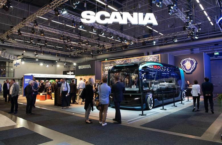 Bus Scania NXT Foto: dok. Scania