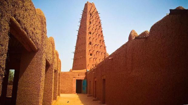 Masjid Segitiga di Dunia - Masjid Agadez, Niger