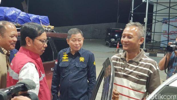 Menteri ESDM Ignasius Jonan cek pasokan BBM di Semarang