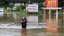 19 Orang Tewas Akibat Banjir Parah di China