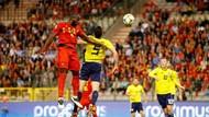 Hasil Kualifikasi Piala Eropa 2020: Lukaku Dua Gol, Belgia 3 Skotlandia 0