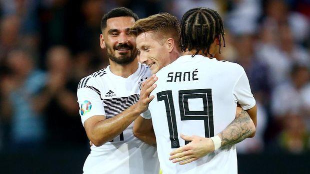 Timnas Jerman menang besar atas Estonia.