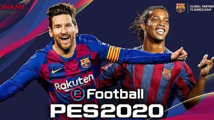 Game PES 2020 menampilkan Lionel Messi di cover. (Foto: Dok. FC Barcelona)
